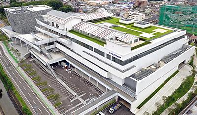 文化複合施設「ところざわサクラタウン」(画像提供:KADOKAWA)